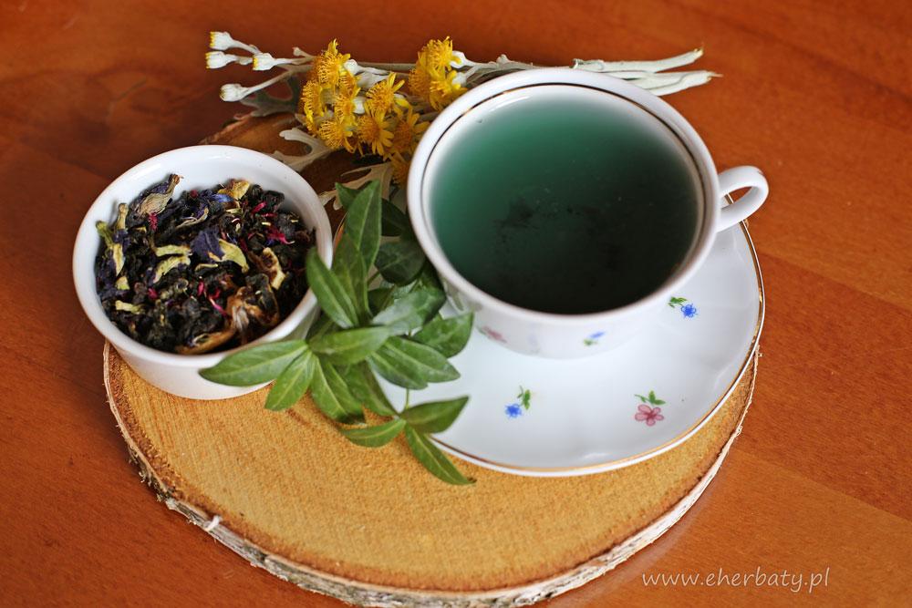 Niebieska herbata Blue Butterfly
